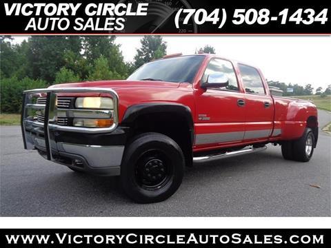 2002 Chevrolet Silverado 3500 for sale in Troutman, NC