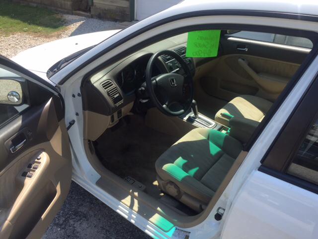 2004 Honda Civic LX 4dr Sedan - Sidney OH