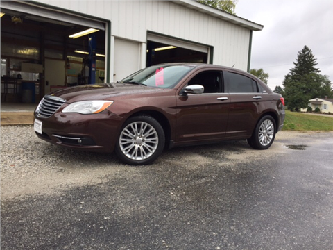 2012 Chrysler 200 for sale in Sidney, OH