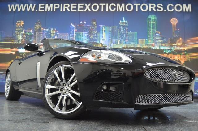 2007 Jaguar Xk Series Xkr 2dr Convertible Addison Tx