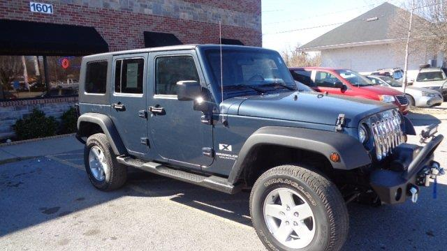 used 2007 jeep wrangler unlimited x 4dr 4wd in