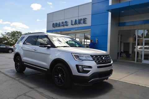 2016 Ford Explorer for sale in Grass Lake, MI