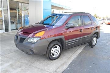 2001 Pontiac Aztek for sale in Grass Lake, MI