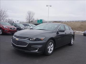 2017 Chevrolet Malibu for sale in Grass Lake, MI