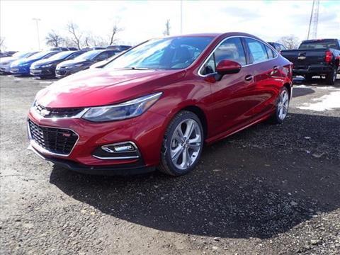2017 Chevrolet Cruze for sale in Grass Lake, MI