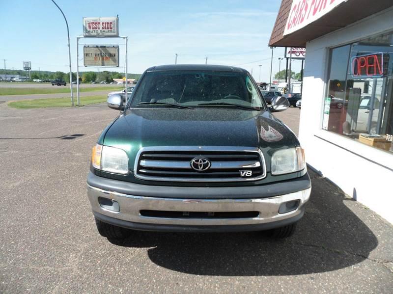 2001 Toyota Tundra 2dr Standard Cab SR5 V8 4WD LB - Chippewa Falls WI