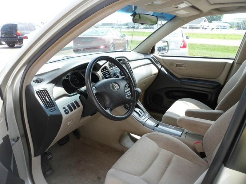 2002 Toyota Highlander AWD 4dr SUV V6 - Chippewa Falls WI