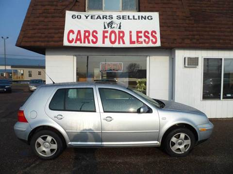 2002 Volkswagen Golf for sale in Chippewa Falls, WI