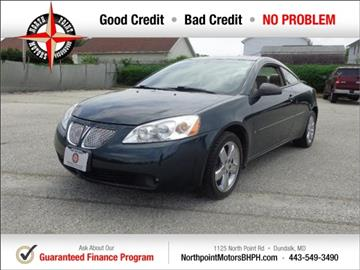 2006 Pontiac G6 for sale in Baltimore, MD