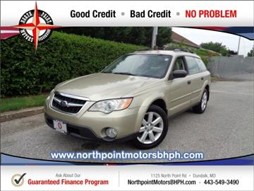 2008 Subaru Outback for sale in Baltimore, MD