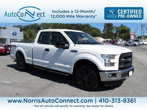 2016 Ford F-150 & Ford Used Cars For Sale Baltimore North Point Motors markmcfarlin.com