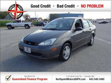2002 Ford Focus for sale in Baltimore, MD
