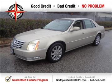 2008 Cadillac DTS for sale in Baltimore, MD