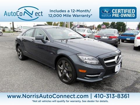 2012 Mercedes-Benz CLS for sale in Baltimore, MD