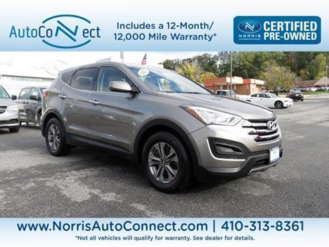 2015 Hyundai Santa Fe Sport for sale in Baltimore, MD