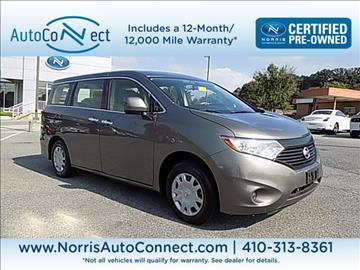 2016 Nissan Quest for sale in Baltimore, MD