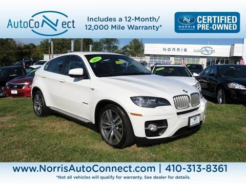 2011 BMW X6 for sale in Baltimore, MD