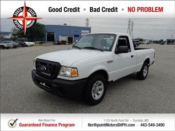 2010 Ford Ranger for sale in Baltimore, MD