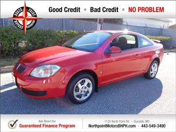 2007 Pontiac G5 for sale in Baltimore, MD