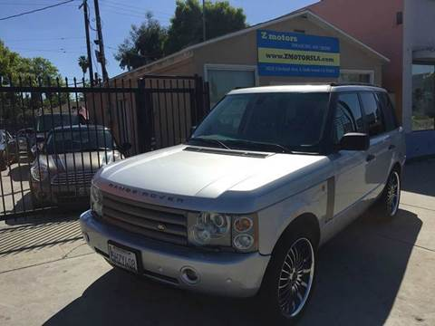 2004 Land Rover Range Rover for sale in North Hollywood, CA