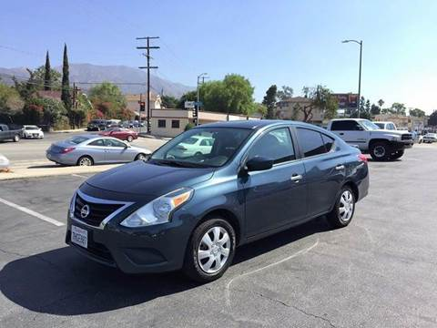 2015 Nissan Versa for sale in Tujunga, CA