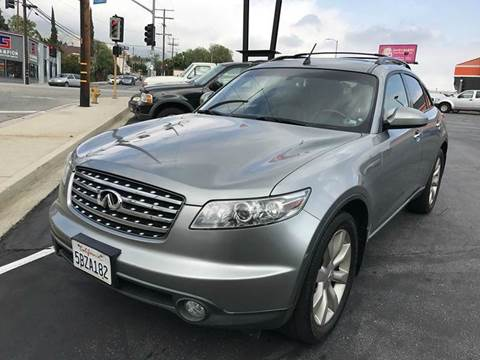 2003 Infiniti FX45 for sale in Tujunga, CA