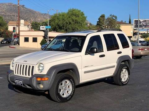 2002 Jeep Liberty for sale in Tujunga, CA