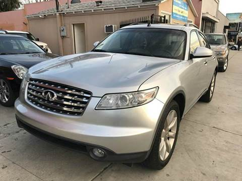 2003 Infiniti FX45 for sale in North Hollywood, CA