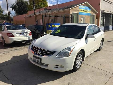 2010 Nissan Altima for sale in North Hollywood, CA