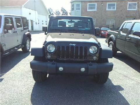 2014 Jeep Wrangler for sale in Bethlehem, PA