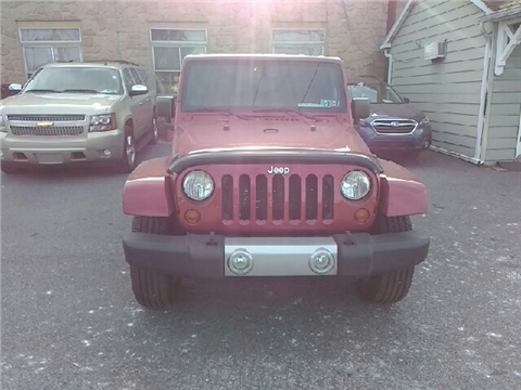2012 Jeep Wrangler Unlimited for sale in Bethlehem, PA