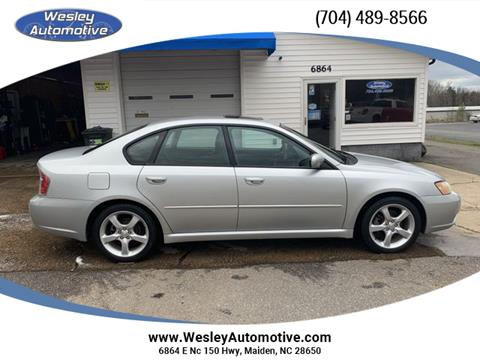 2007 Subaru Legacy for sale in Maiden, NC