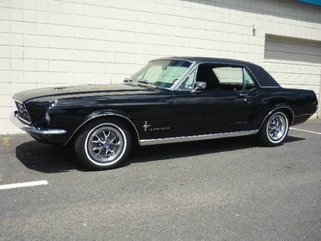 1967 ford mustang trip black vancouver wa