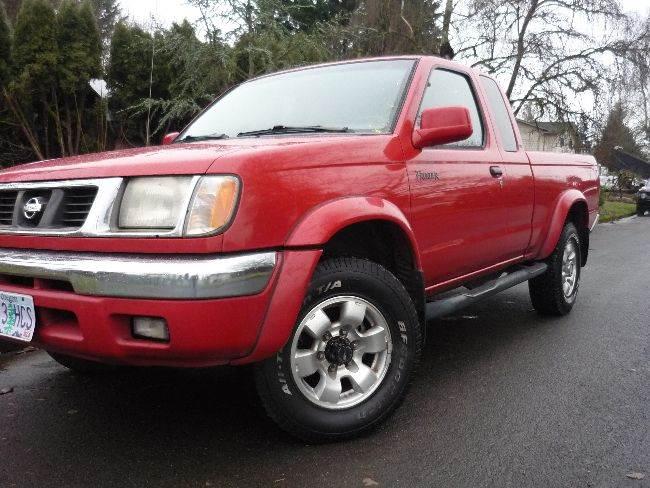 1999 nissan frontier vancouver wa vancouver washington pickup trucks vehicles for sale. Black Bedroom Furniture Sets. Home Design Ideas