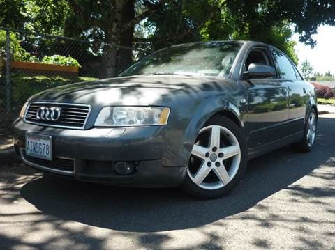 2002 Audi A4 for sale in Vancouver, WA