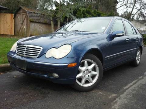 2001 Mercedes-Benz C-Class for sale in Vancouver, WA