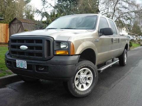 2005 Ford F-350 Super Duty for sale in Vancouver, WA