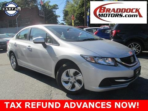 2014 Honda Civic for sale in Braddock Heights, MD