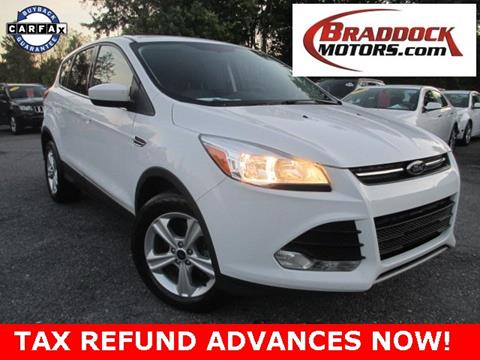 2014 Ford Escape for sale in Braddock Heights, MD