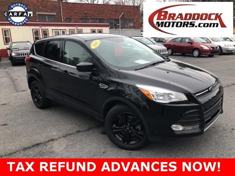 2015 Ford Escape for sale in Braddock Heights, MD