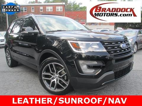2017 Ford Explorer for sale in Braddock Heights, MD