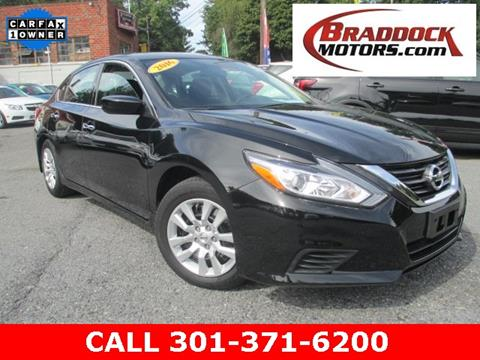 2016 Nissan Altima for sale in Braddock Heights, MD