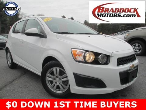 2015 Chevrolet Sonic for sale in Braddock Heights, MD