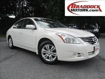 2012 Nissan Altima for sale in Braddock Heights, MD