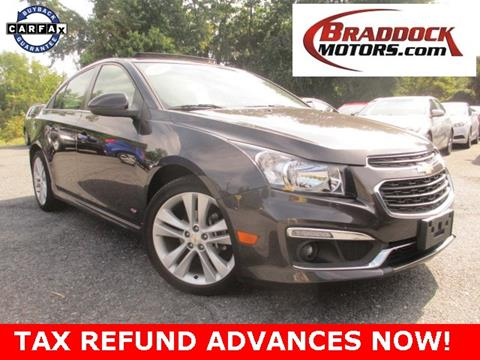 2015 Chevrolet Cruze for sale in Braddock Heights, MD