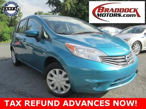 2016 Nissan Versa Note for sale in Braddock Heights, MD