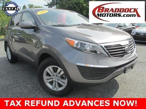 2011 Kia Sportage for sale in Braddock Heights, MD