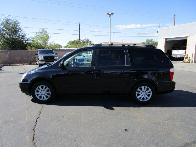 2006 KIA SEDONA EX 4DR MINIVAN black heres a great family vehicle its a 2006 kia sadona ex van