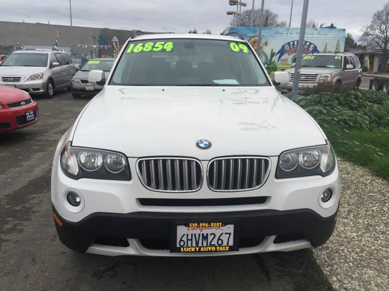 2009 bmw x3 xdrive30i awd 4dr suv in hayward ca lucky. Black Bedroom Furniture Sets. Home Design Ideas