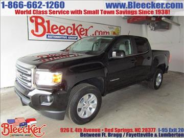 2017 GMC Canyon for sale in Red Springs, NC